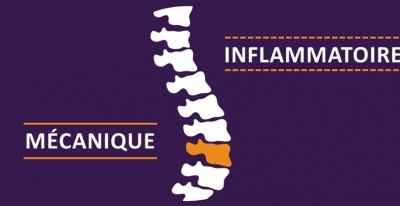 Mal de dos mécanique ou mal de dos inflammatoire